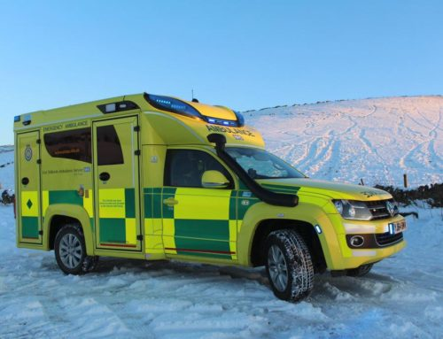 Tamlans Amarok XL Ambulance voor Engeland
