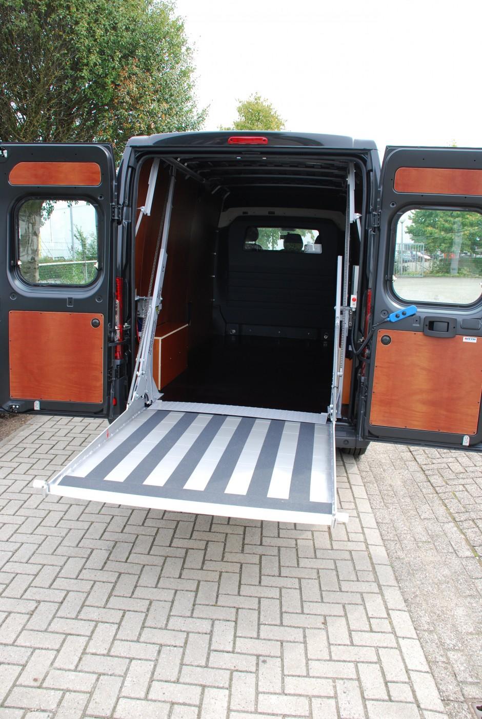 Easyloader in bedrijfswagen