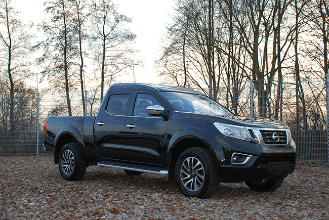 Pick-up extensions Nissan NP300 Dubbel cab XL