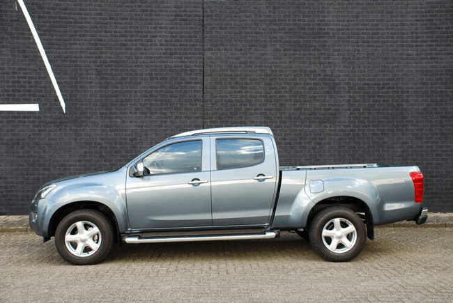 Pick-up extensions Isuzu D-max DC XL side