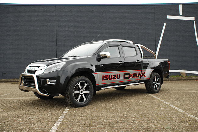 Pick-up extensions Isuzu D-max DC XL