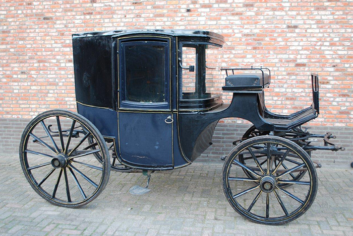 1840 The establishment of Veth as coach- and carriage builder
