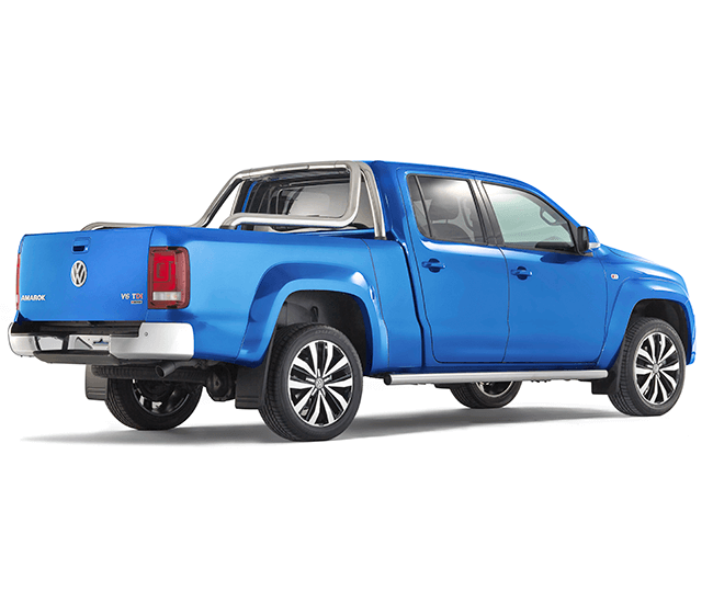 Pick-up extensions Volkswagen Amarok XL back side