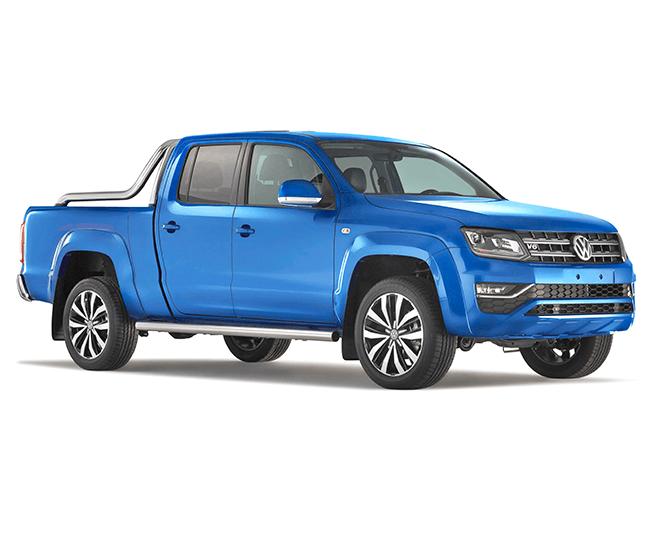Pick-up extensions Volkswagen Amarok XL side