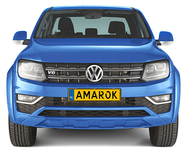 Pick-up extensions Volkswagen Amarok XL front