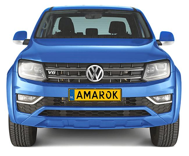 Pick-up extensions Volkswagen Amarok XL front