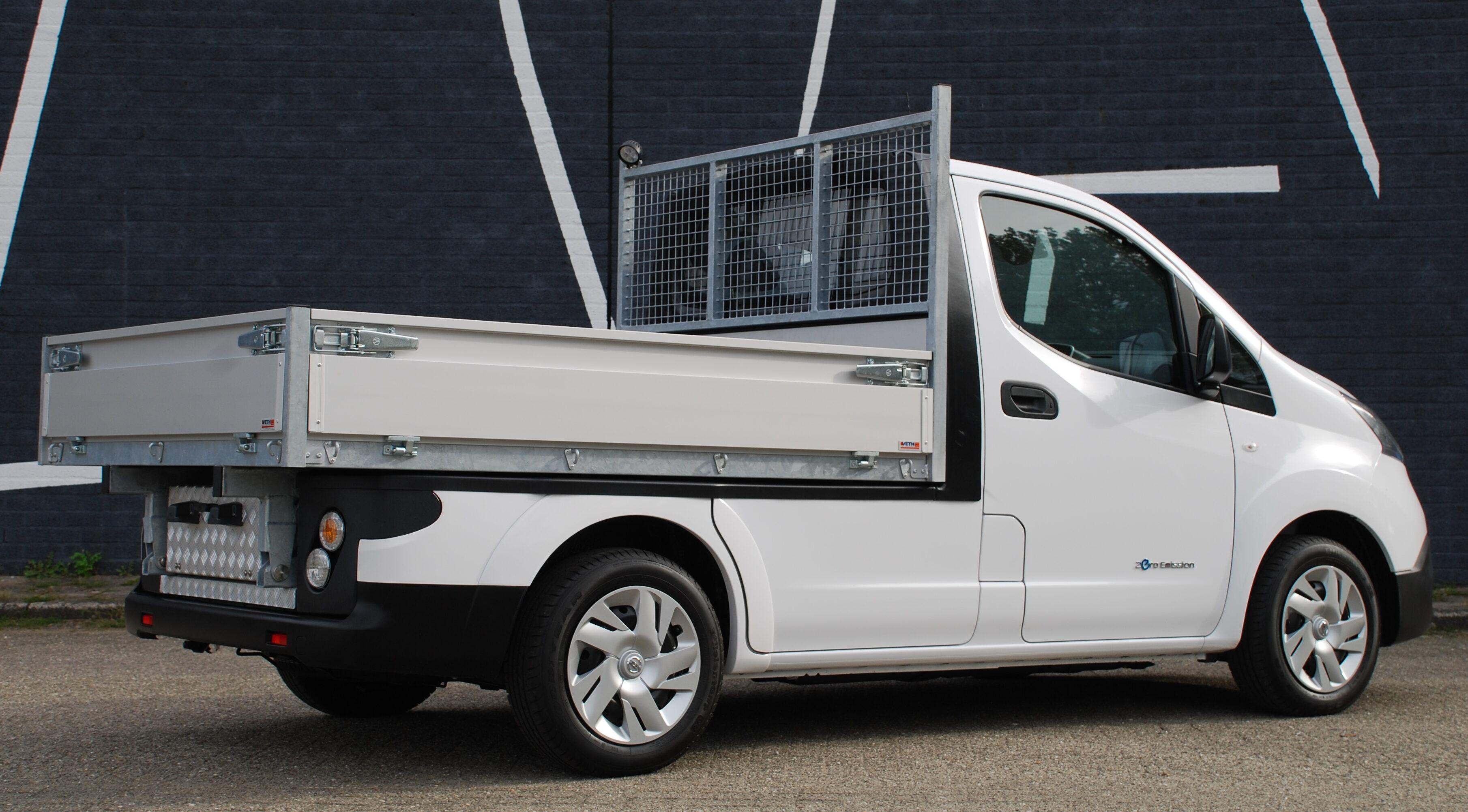 Nissan e-NV200 open cargo body